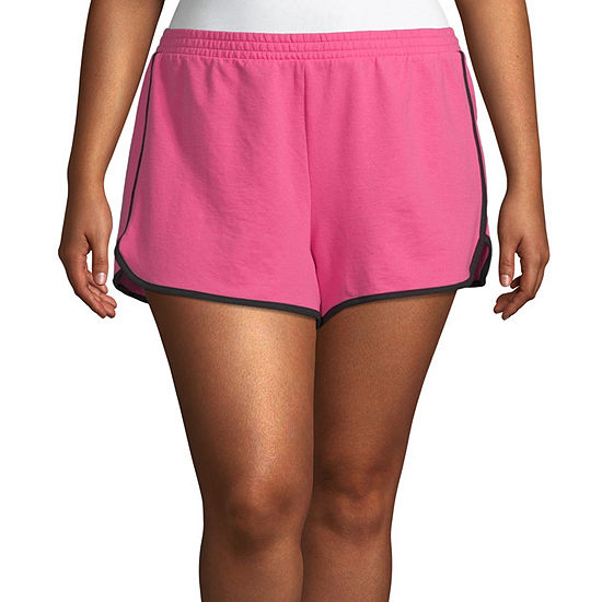 Flirtitude Womens Pull On Short Juniors Plus