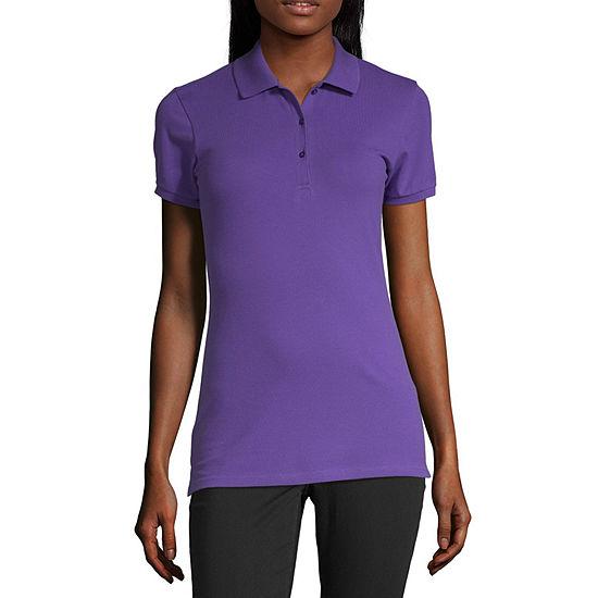 Arizona Short Sleeve Polo Shirt Juniors