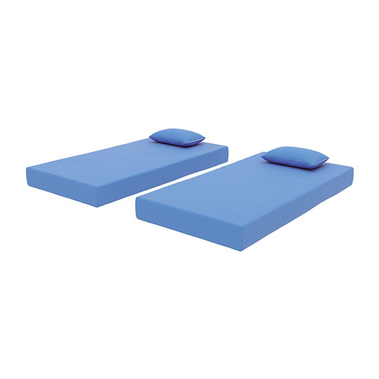 Signature Design by Ashley® iKidz Blue Mattress and Pillow