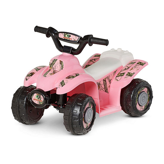 Kid Trax Mossy Oak 6volt Toddler Quad Electric Ride On Ride On Quad