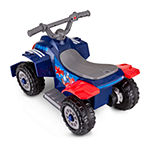 Kid Trax Marvel Captain America 6volt Toddler Quad Electric Ride-On
