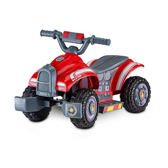 Kid Trax Paw Patrol Marshall 6volt Toddler Quad Electric Ride-On