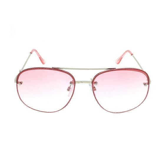 Fantas Eyes Womens Disco Full Frame Square UV Protection Sunglasses