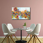 Courtside Market A Garden Canvas Art