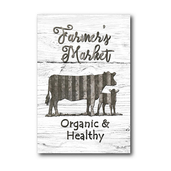 Courtside Market Farmers Market Canvas Art
