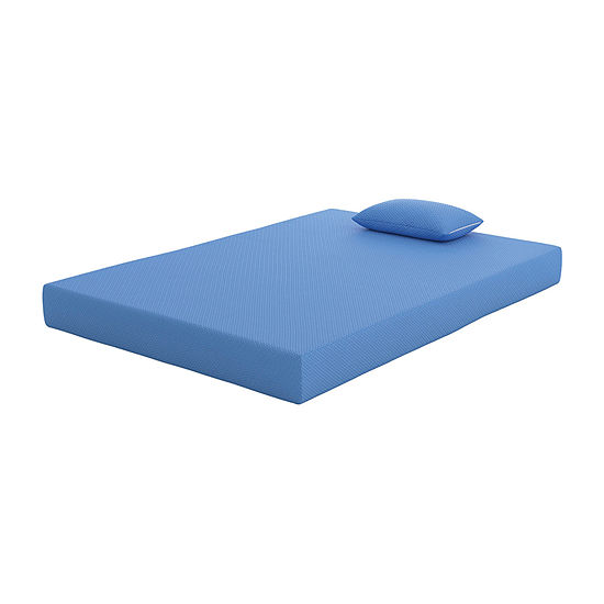 Signature Design by Ashley® iKidz Blue Mattress and Pillow