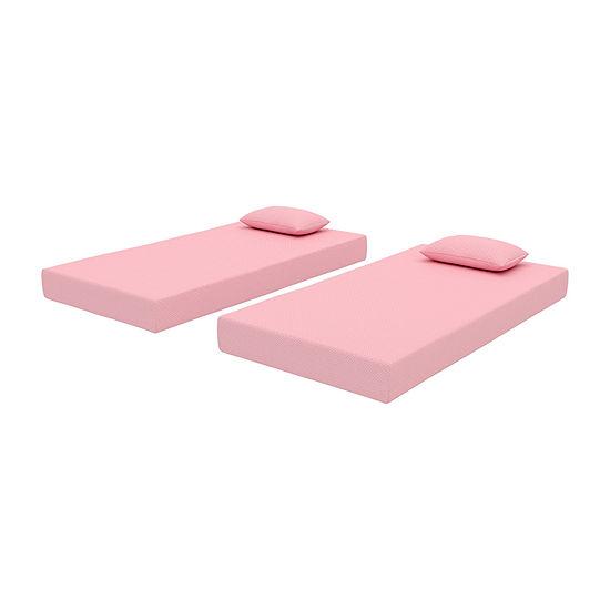 Signature Design by Ashley® iKidz Pink Mattress and Pillow