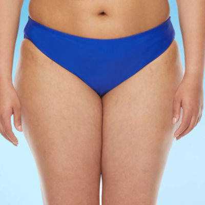 Decree Womens Hipster Bikini Swimsuit Bottom Juniors Plus