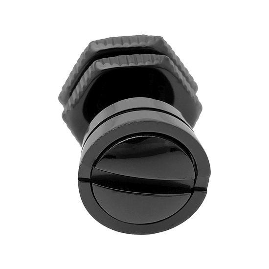 Mens Stainless Steel Black Ip Stud Earring