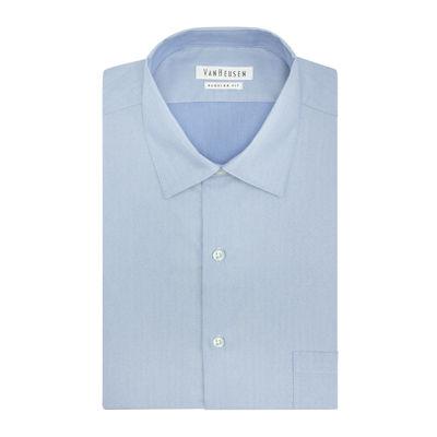 Van Heusen® Long-Sleeve Herringbone Shirt - Big & Tall
