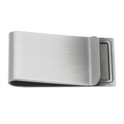 Personalized Silver-Toned Antique Money Clip