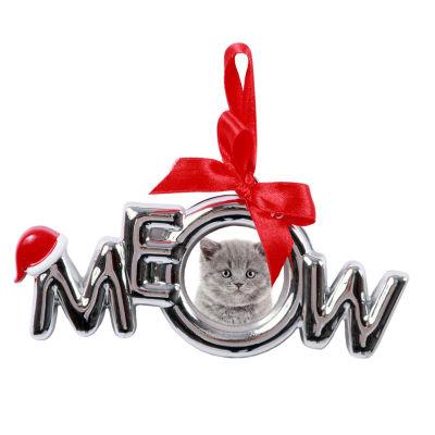 Meow Frame Christmas Ornament