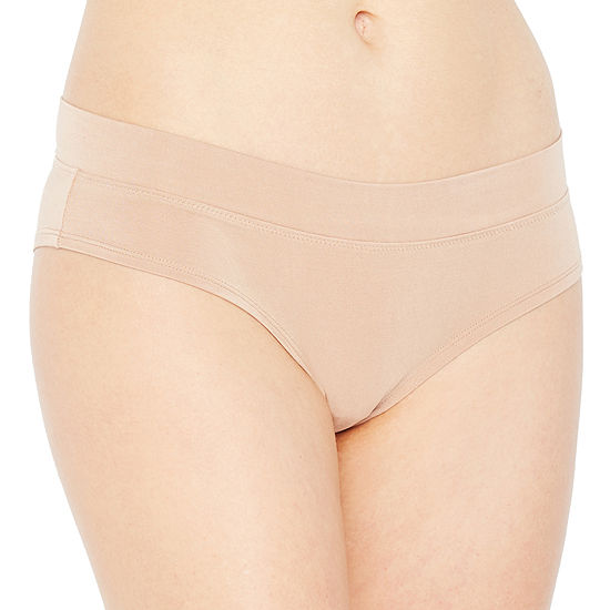 Ambrielle® Cotton Modal Cheeky Hipster