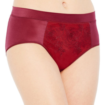 Ambrielle® Embroidered Tummy-Smoothing Modern Briefs
