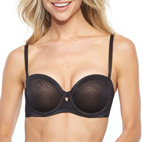 Push Up Convertible Strapless With Lace Cover