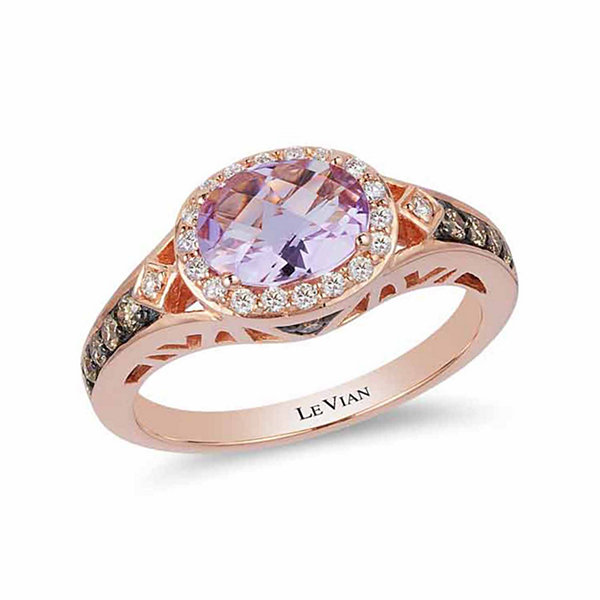 LIMITED QUANTITIES! Grand Sample Sale™ by Le Vian® 1/3 CT. T.W. Purple Amethyst 14K Gold Cocktail Ring