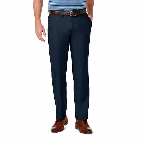 Haggar Cool 18 Pro Straight Fit Flat Front Pants