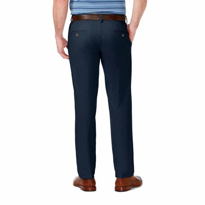Haggar Cool 18 Straight Fit Flat Front Pants
