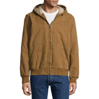 Levi's Workwear Hoody Sherpa Lined Bomber Jacket