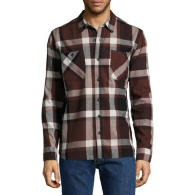 Levi's® Berg Long Sleeve Flannel Shirt