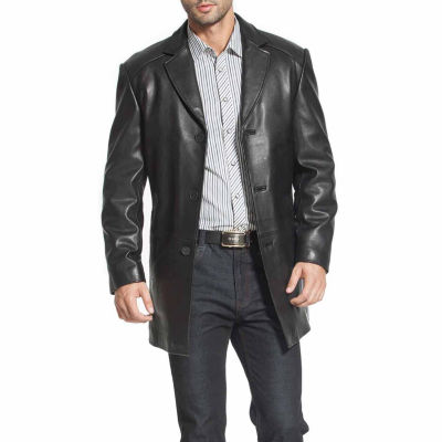 Carter Leather Car Coat Tall
