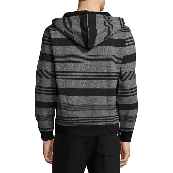 Zoo York Long Sleeve Sherpa Stripe Hoodie
