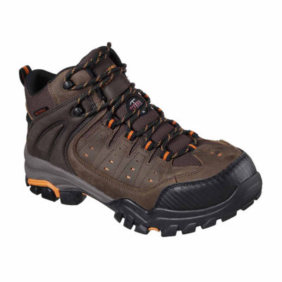 Skechers Mens Lakehead Waterproof Work Boots Lace-up