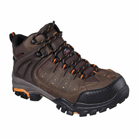 Skechers Mens Lakehead Waterproof Work Boots