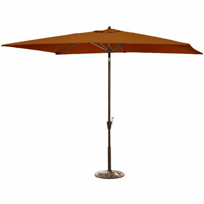 Adriatic 6.5-Ft X 10-Ft Rectangular Market Umbrella