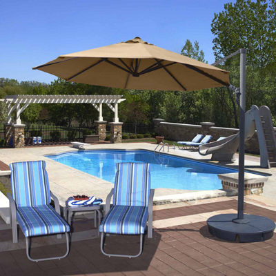 Freeport 11-Ft Octagonal Cantilever Patio Umbrella