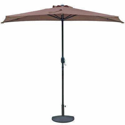 Lanai 9-Ft Half Umbrella