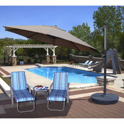 Victoria 13-Ft Octagonal Cantilever Patio Umbrella