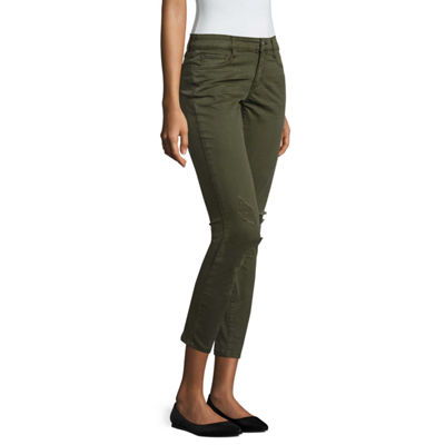 Arizona Twill Jeggings-Juniors