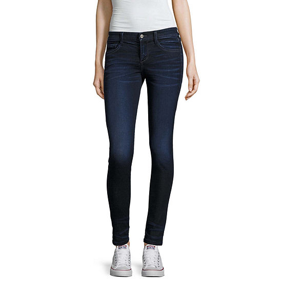 Arizona Womens Low Rise Stretch Jeggings - Juniors