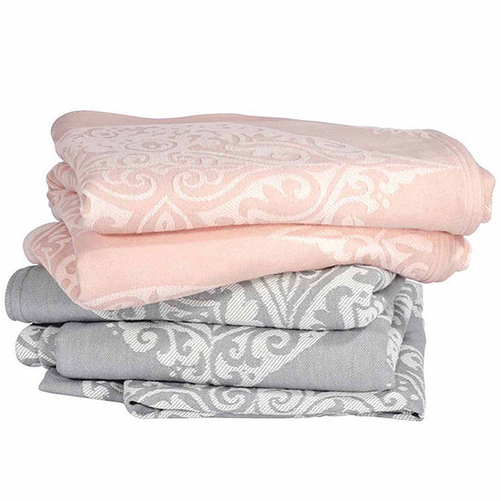 Peri Damask Blanket