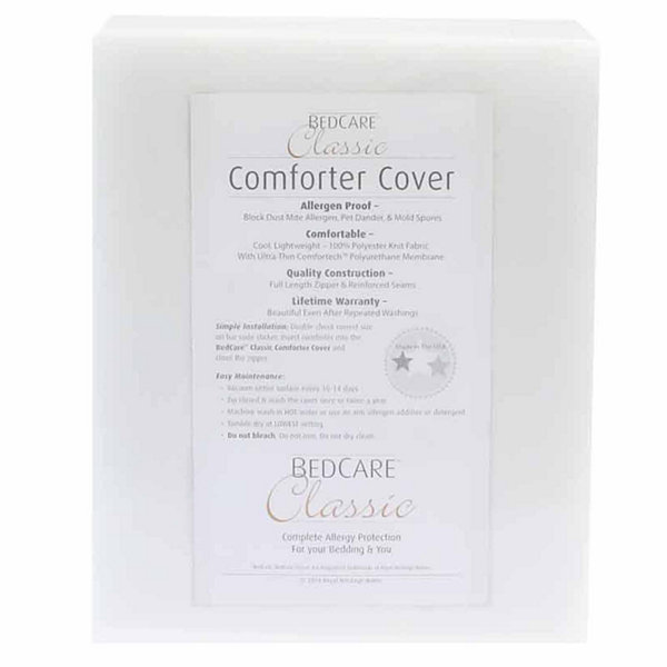 BedCare Classic Allergy and Bed Bug Proof Comforter Cover