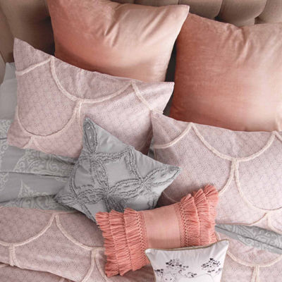 Peri Chenille Scallop Pillow Sham