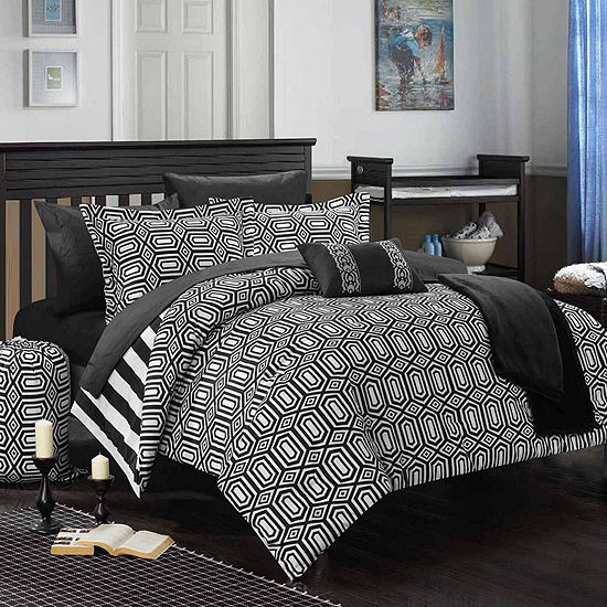Chic Home Paris Midweight Reversible Comforter Set