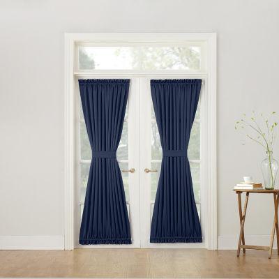 Sun Zero™ Emory Room-Darkening Rod-Pocket Door Panel