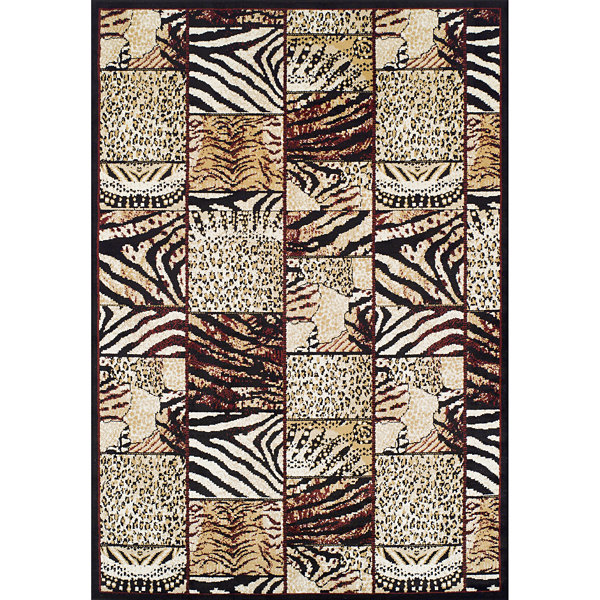 Achim Cheetah Rectangular Rugs