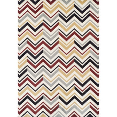 Achim Chevron Rectangular Rugs