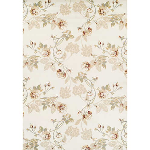 Achim Lily Tan Rectangular Rugs