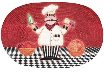 Achim Chef Braided Oval Rugs
