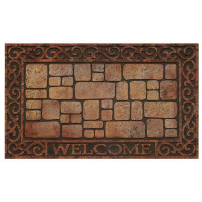 Achim Paver Scroll Rectangular Doormat