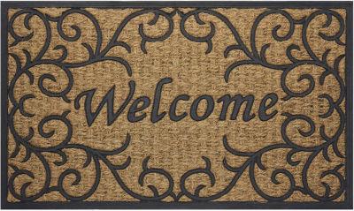 Achim Vines Rectangular Doormat