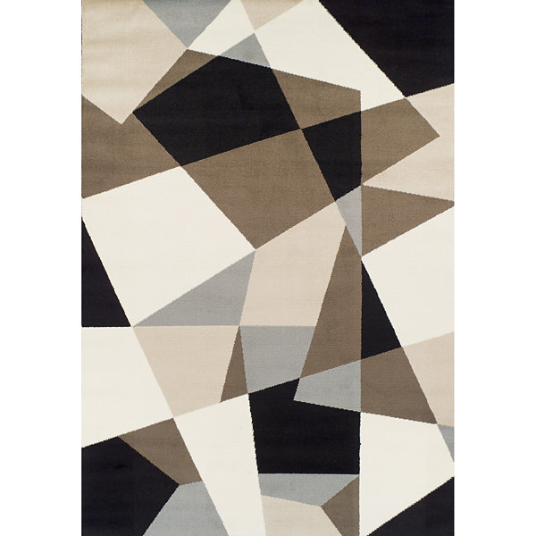 Achim Ceometric Rectangular Rugs