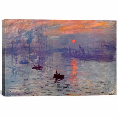 Icanvas Sunrise Impression Canvas Art