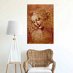 Icanvas Female Head Canvas Art