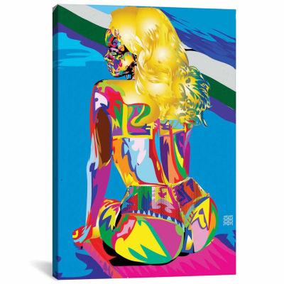 Icanvas Bold Rihanna Canvas Art