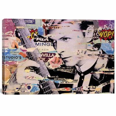 Icanvas David Bowie Canvas Art